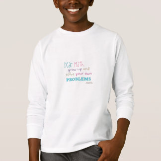 Camiseta Cara Matemática