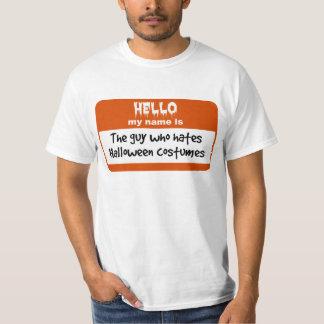 Camiseta Cara que deia o Nametag dos trajes do Dia das