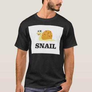 Camiseta caracol alegre