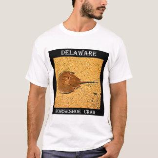 Camiseta Caranguejo em ferradura de Delaware