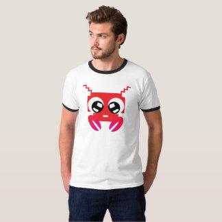 Camiseta Caranguejo vermelho bonito