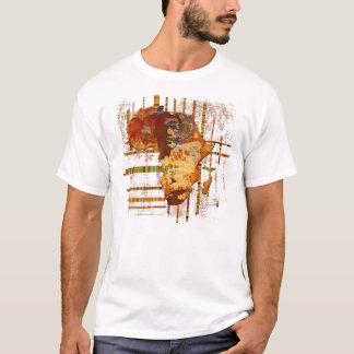 Camiseta Caras da arte tribal étnica africana África T de