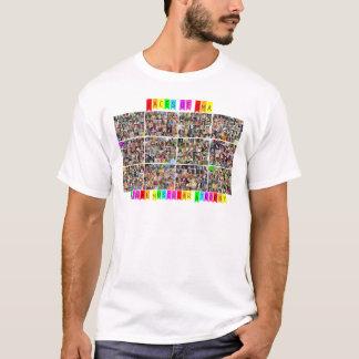 Camiseta Caras de SMA - parte traseira do fato