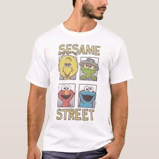 Camiseta Caráter 2 cómicos de StreetVintage do sésamo