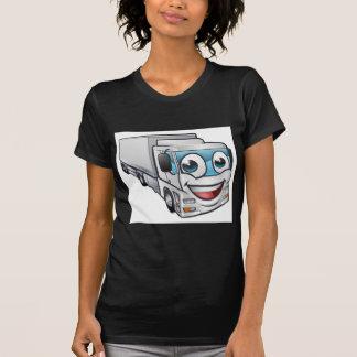 Camiseta Caráter da mascote do transporte do camião do