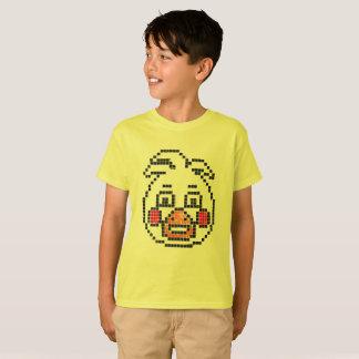 Camiseta caráter de 8 bits (o pato de Freddy)