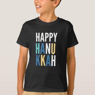 Camiseta Caráteres de Hanukkah