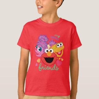 Camiseta Caráteres doces dos melhores amigos