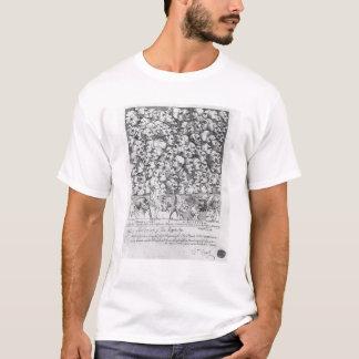 Camiseta Caráteres e caricaturas