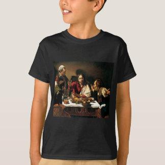 Camiseta Caravaggio - ceia em Emmaus - pintura clássica