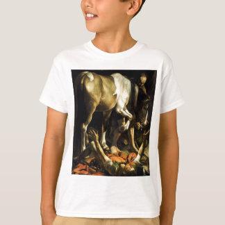 Camiseta Caravaggio - conversão na maneira a Damasco