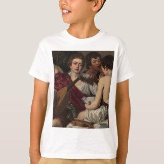 Camiseta Caravaggio - músicos - trabalhos de arte clássicos