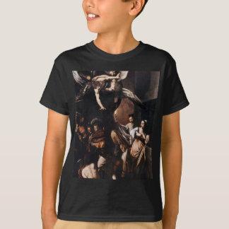Camiseta Caravaggio - os sete trabalhos da pintura do