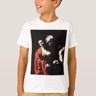 Camiseta Caravaggio - Salome - trabalhos de arte barrocos