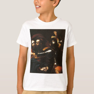 Camiseta Caravaggio - tomada do cristo - trabalhos de arte