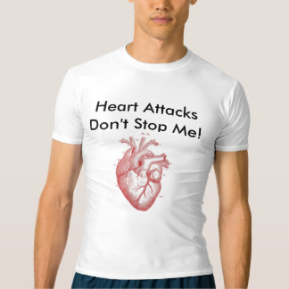 Camiseta Cardíaco de ataque da batida
