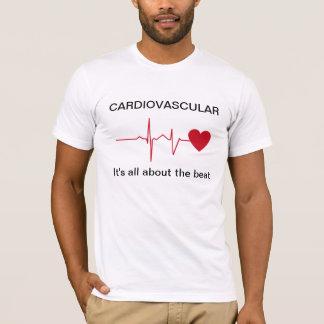 Camiseta cardiovascular da saúde do coração