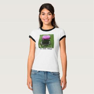 Camiseta Cardo escocês T de Je Suis Prest
