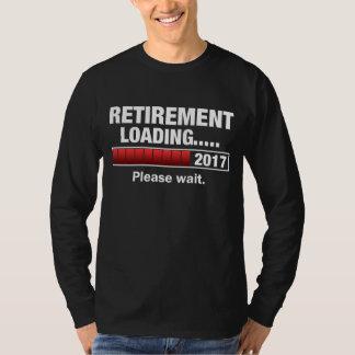 Camiseta Carga 2017 da aposentadoria