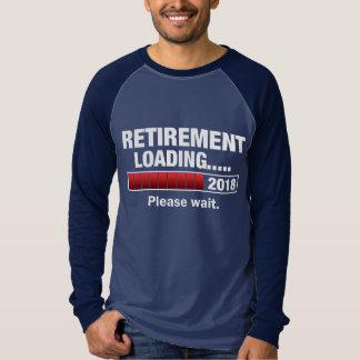 Camiseta Carga 2018 da aposentadoria