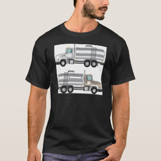 Camiseta Carga do líquido do caminhão do reservatório
