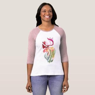 Camiseta Caribu com Fireweed