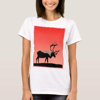 Camiseta Caribu no por do sol