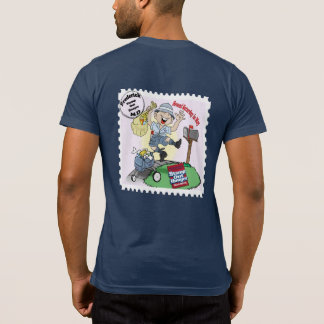 """Camiseta """"Carimbe para fora a fome"""" Frederick, DM"""