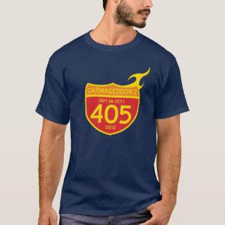 Camiseta CARMAGEDDON 2 os 405 NO FOGO! (camisa escura)