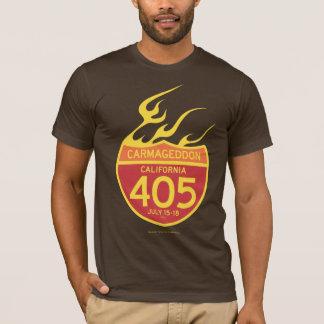 Camiseta CARMAGEDDON 405 no fogo