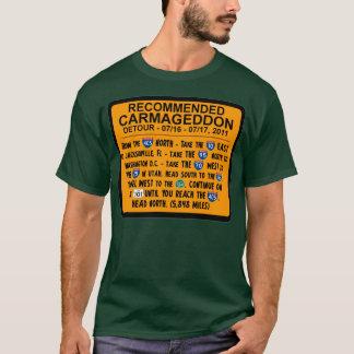 Camiseta Carmageddon - rodeio recomendado