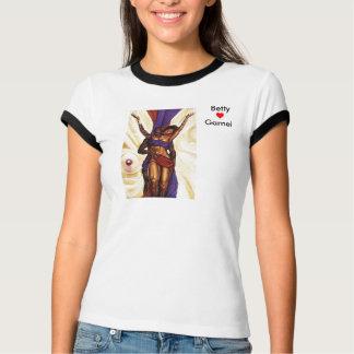 Camiseta Carmel e amor do chocolate