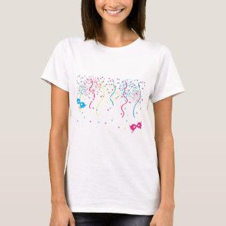 Camiseta Carnaval colorido
