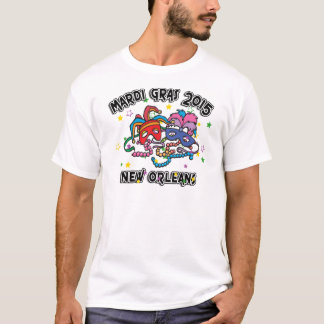 Camiseta Carnaval Nova Orleães 2015