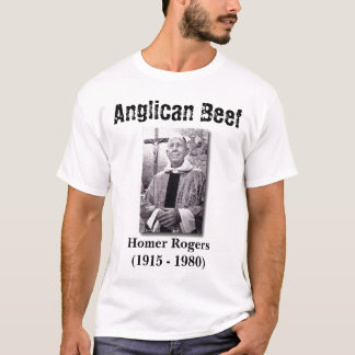 Camiseta Carne anglicana, local Rogers