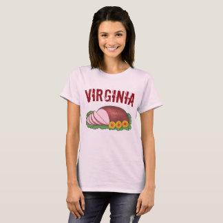 Camiseta Carne curada estilo do VA Foodie do presunto do