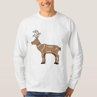 Camiseta Carne da rena para o Natal