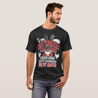 Camiseta Carne de porco de fumo da carne que puxa o Tshirt