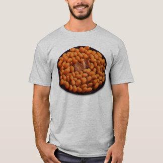 Camiseta Carne de porco retro e feijões da comida do kitsch