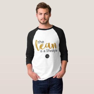 Camiseta Carne sem gordura do estilo de vida