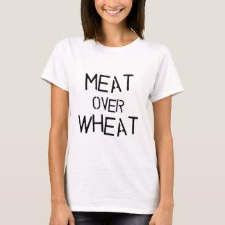Camiseta Carne sobre o trigo