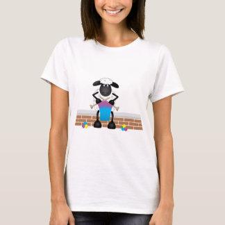 Camiseta Carneiros de confecção de malhas para a ovelha