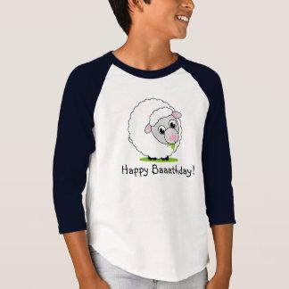 Camiseta Carneiros woolly brancos bonitos e peluches do
