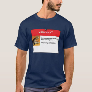Camiseta Carnívoro?