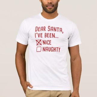 Camiseta Caro Papai noel