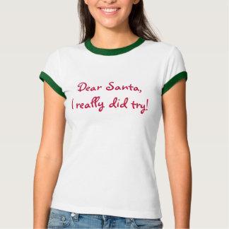 Camiseta Caro Papai noel…