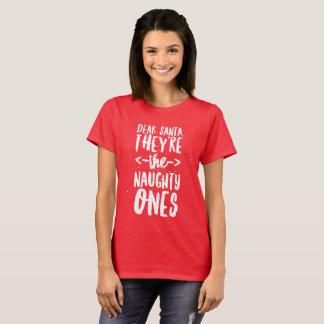 Camiseta Caro Papai noel, são impertinentes