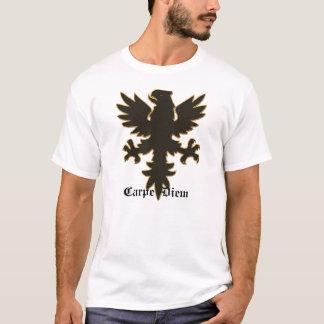 Camiseta Carpe Diem, apreende o dia Eagle