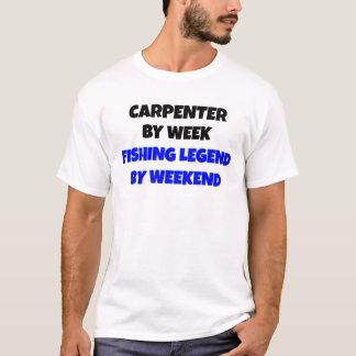 Camiseta Carpinteiro da legenda da pesca