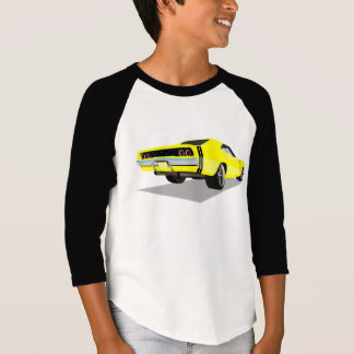 Camiseta Carregador do amarelo 68